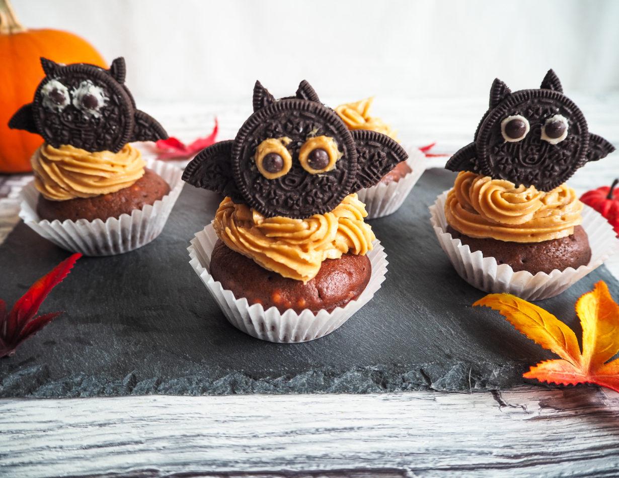 Fledermaus Cupcakes