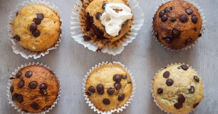 Bananen Schoko Muffins