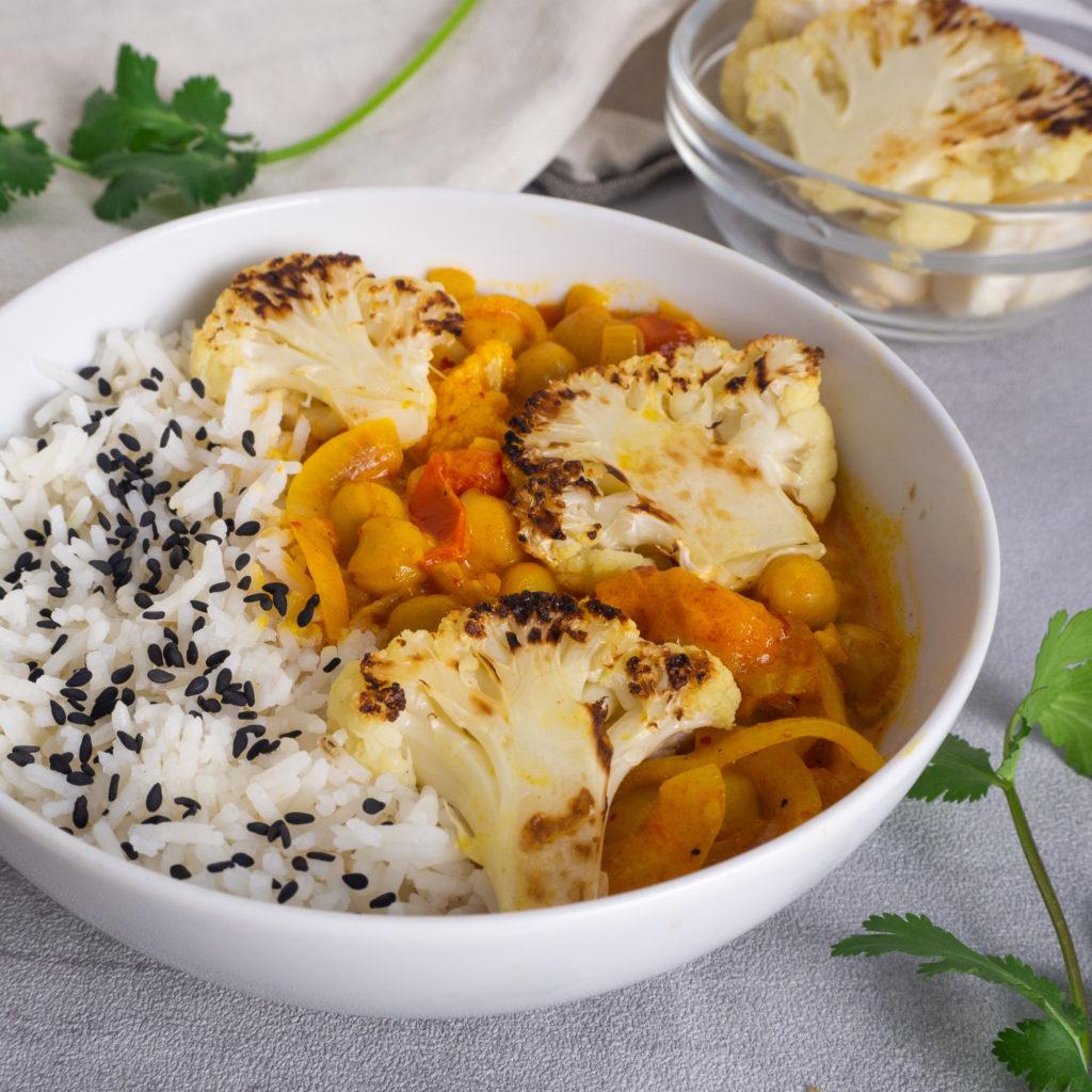 Gelbes Curry Blumenkohl