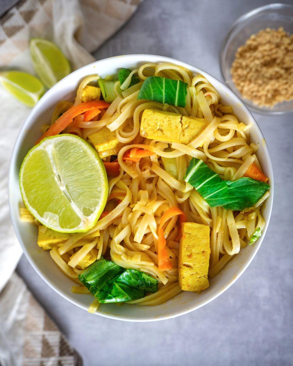 Easy Vegan Pad Thai Recipe