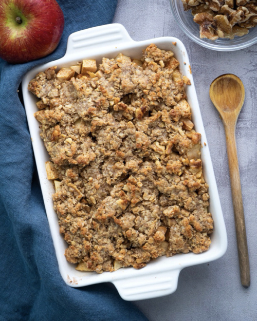 Apple Crumble Mini