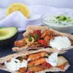 Vegan Pita Bread with Tzatziki Mini