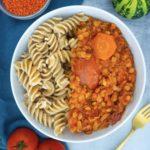 Vegan Lentil Bolognese Mini