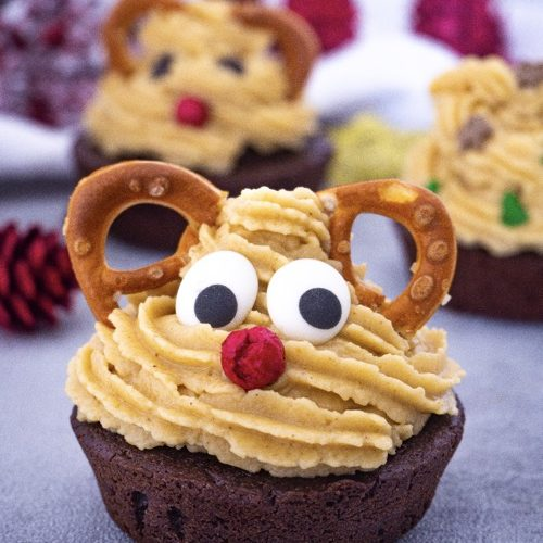 Cupcake Rentier Mini