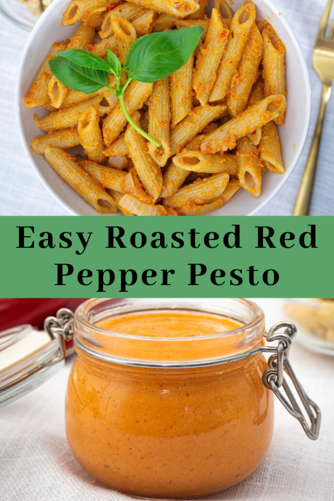 Easy Roasted Red Pepper Pesto