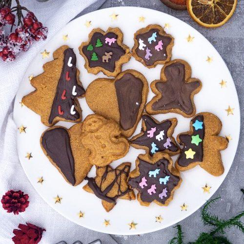 Erdnussbutter Kekse Mini