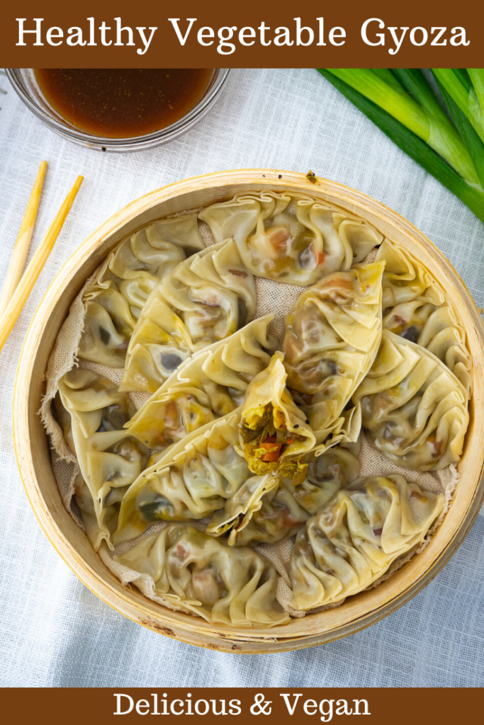 Healthy Vegetable Gyoza