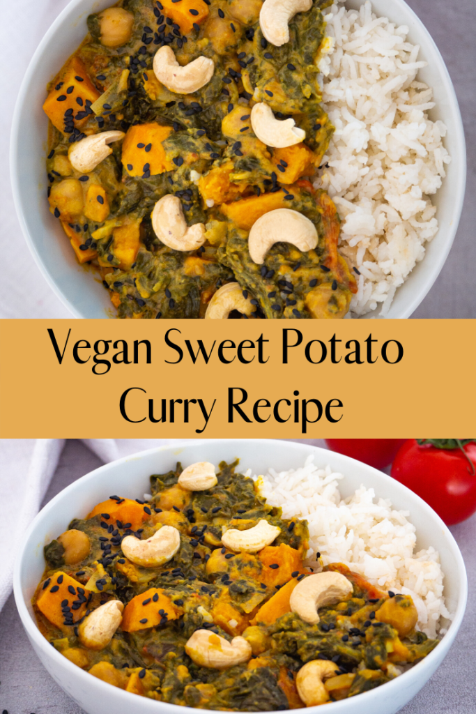 Vegan Sweet Potato Curry