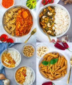 15 einfache vegane Rezepte