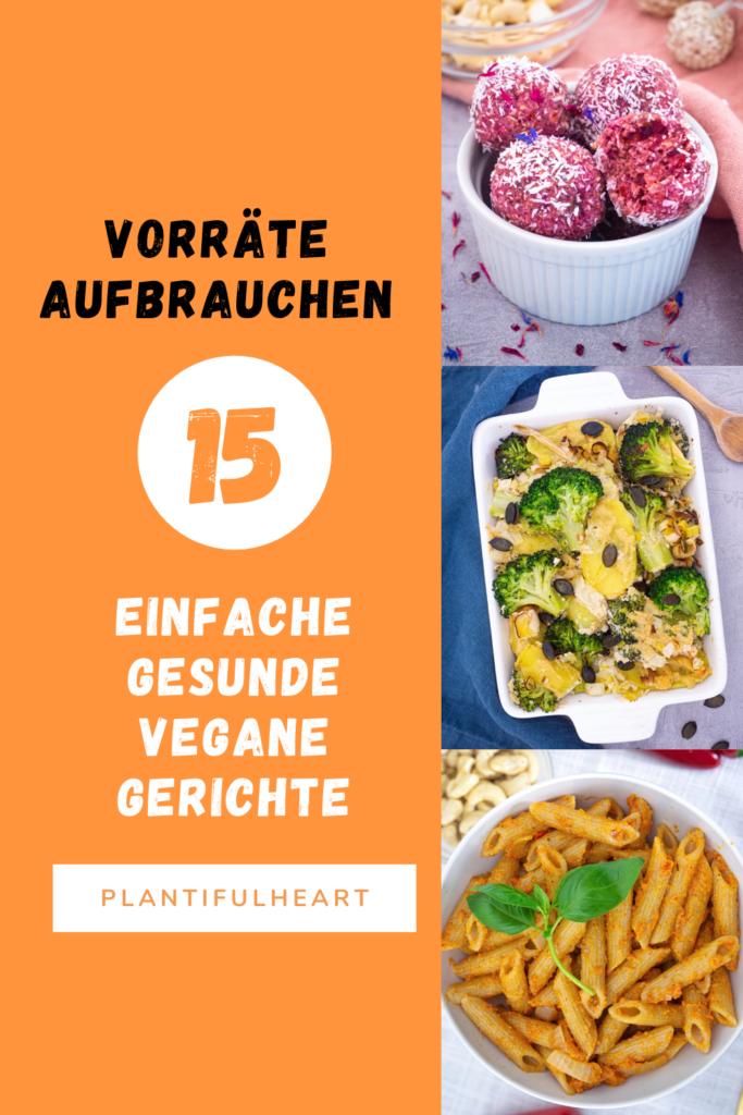 15 einfache vegane Gerichte