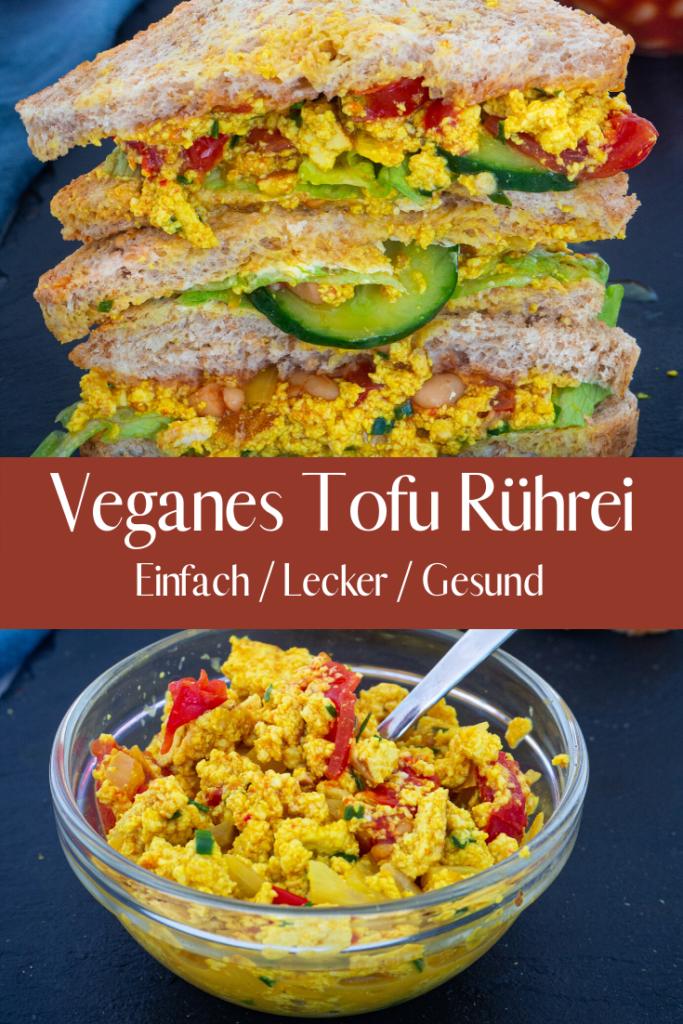 Veganes Tofu Rührei Rezept