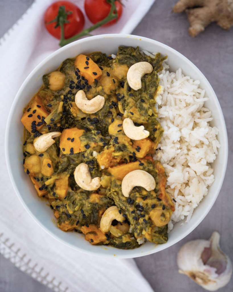 Creamy Sweet Potato Curry