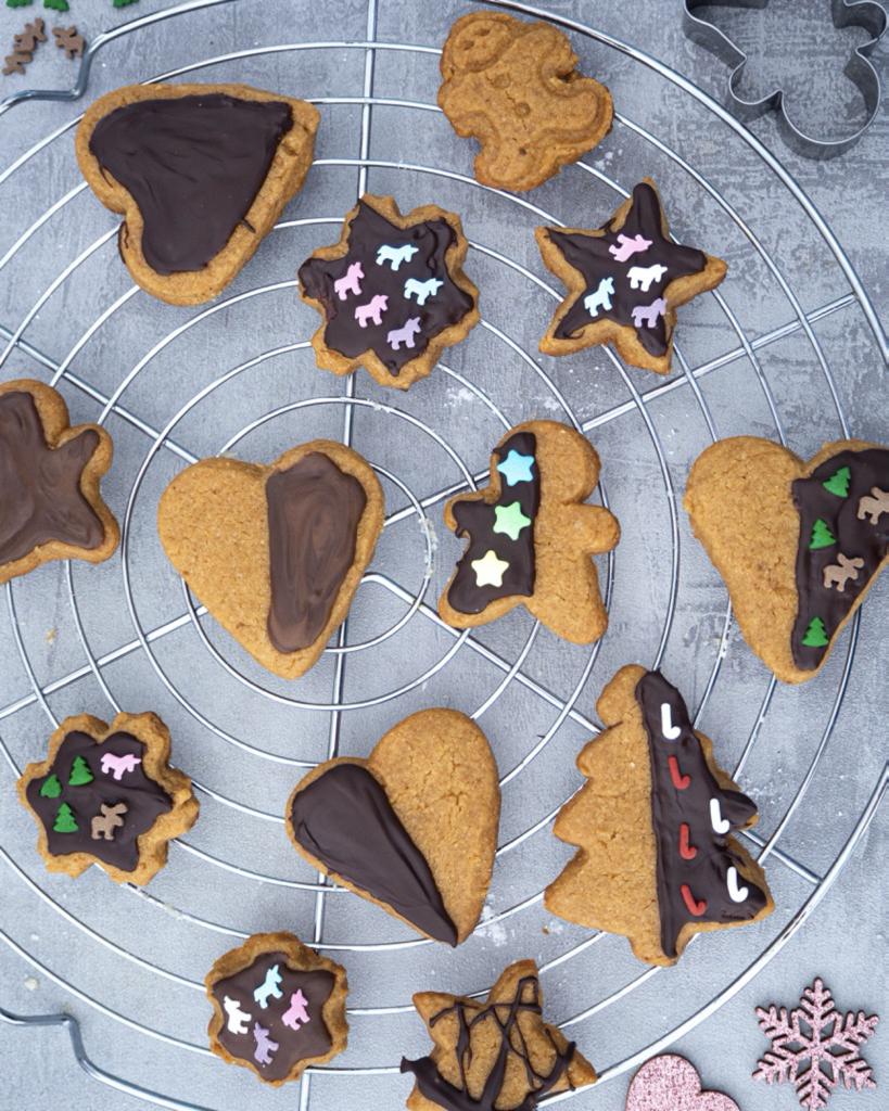 Erdnussbutter Kekse Weihnachten