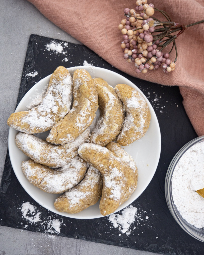 Vanilla Crescents without eggs