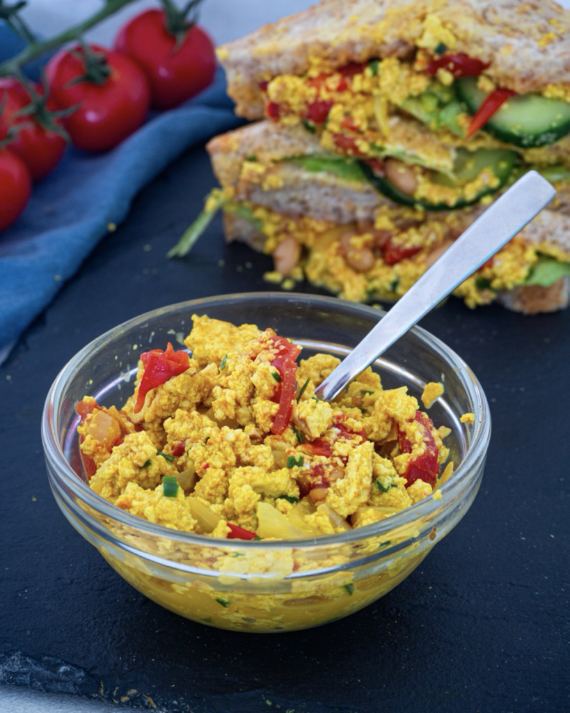 Vegan Scrambled Tofu Recipe