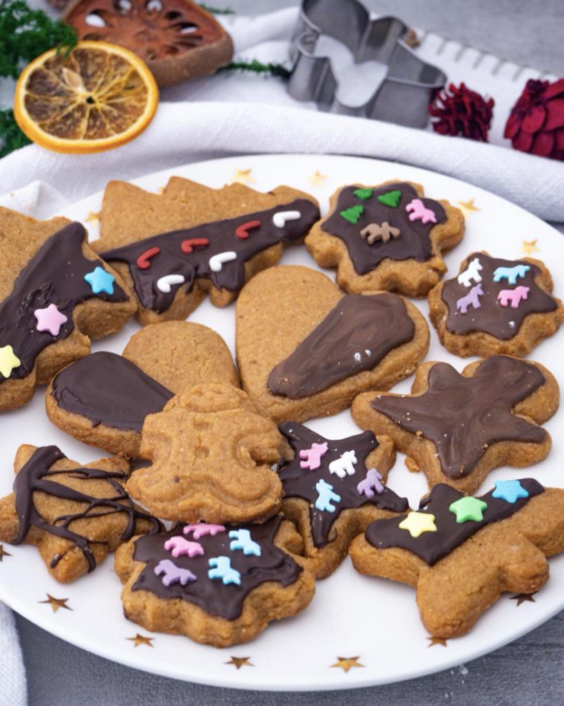 Vegane Erdnussbutter Kekse Rezept