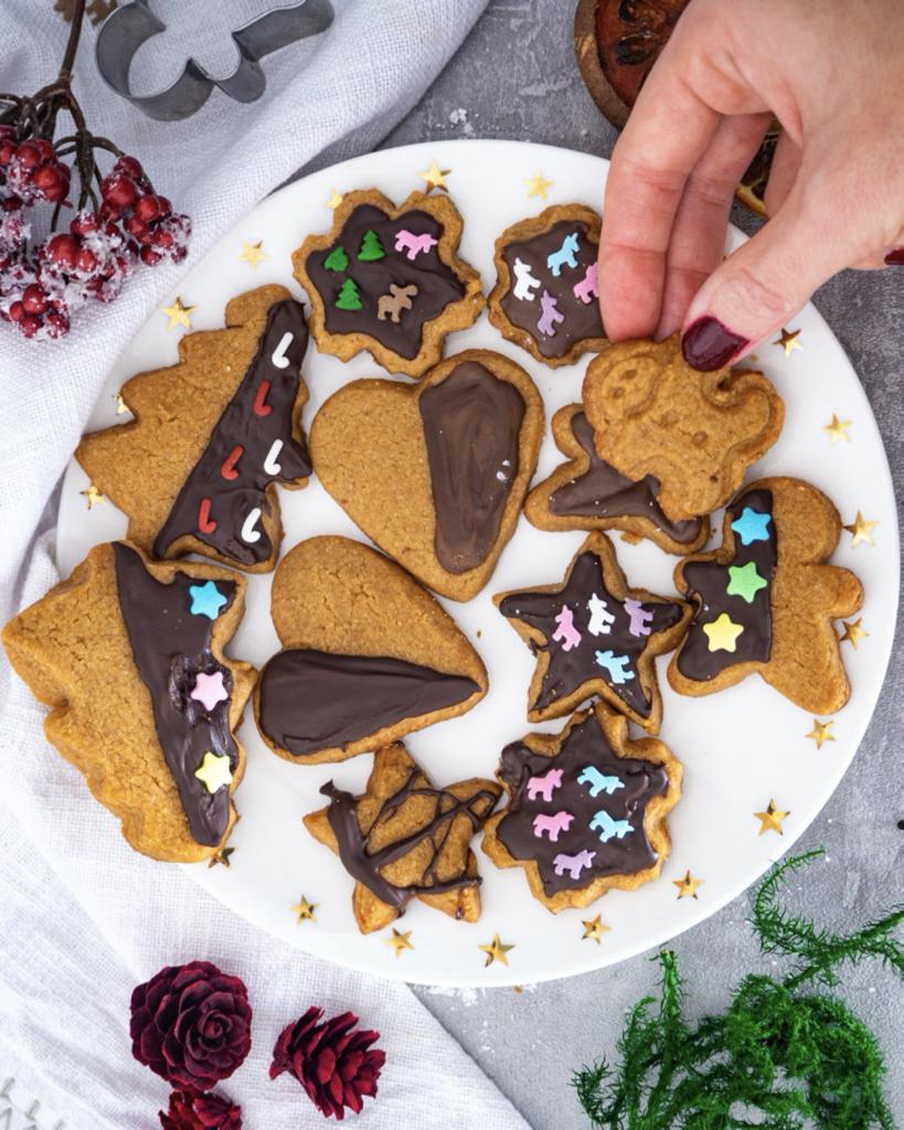Vegane Erdnussbutter Kekse