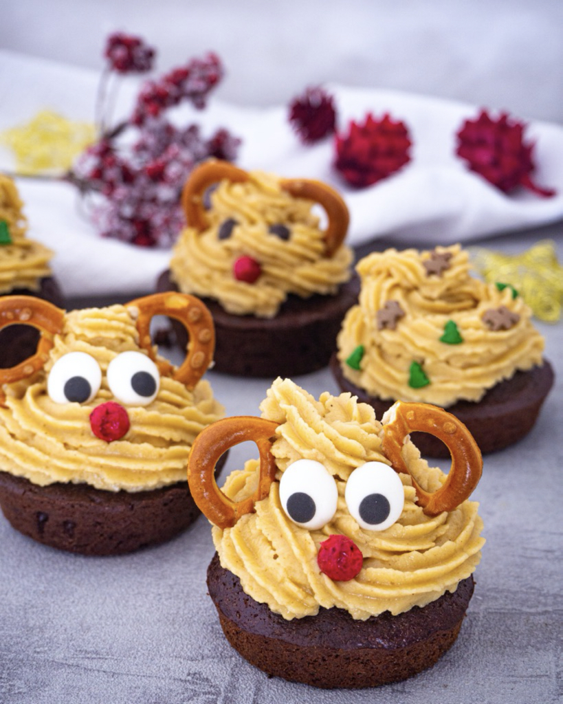 Vegane Lebkuchen Cupcakes