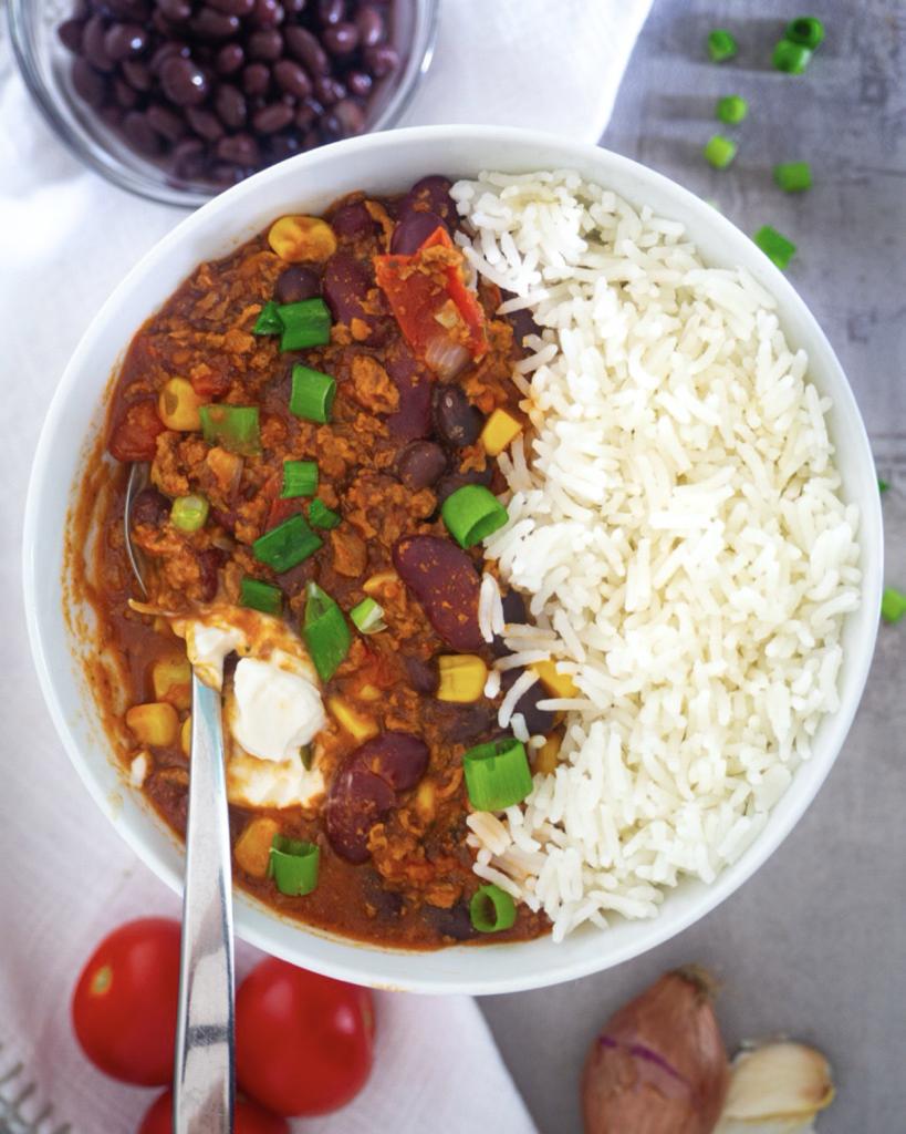 Chili Sin Carne mit Bohnen