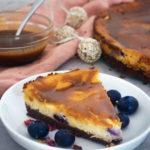 Easy Vegan Cheesecake Mini