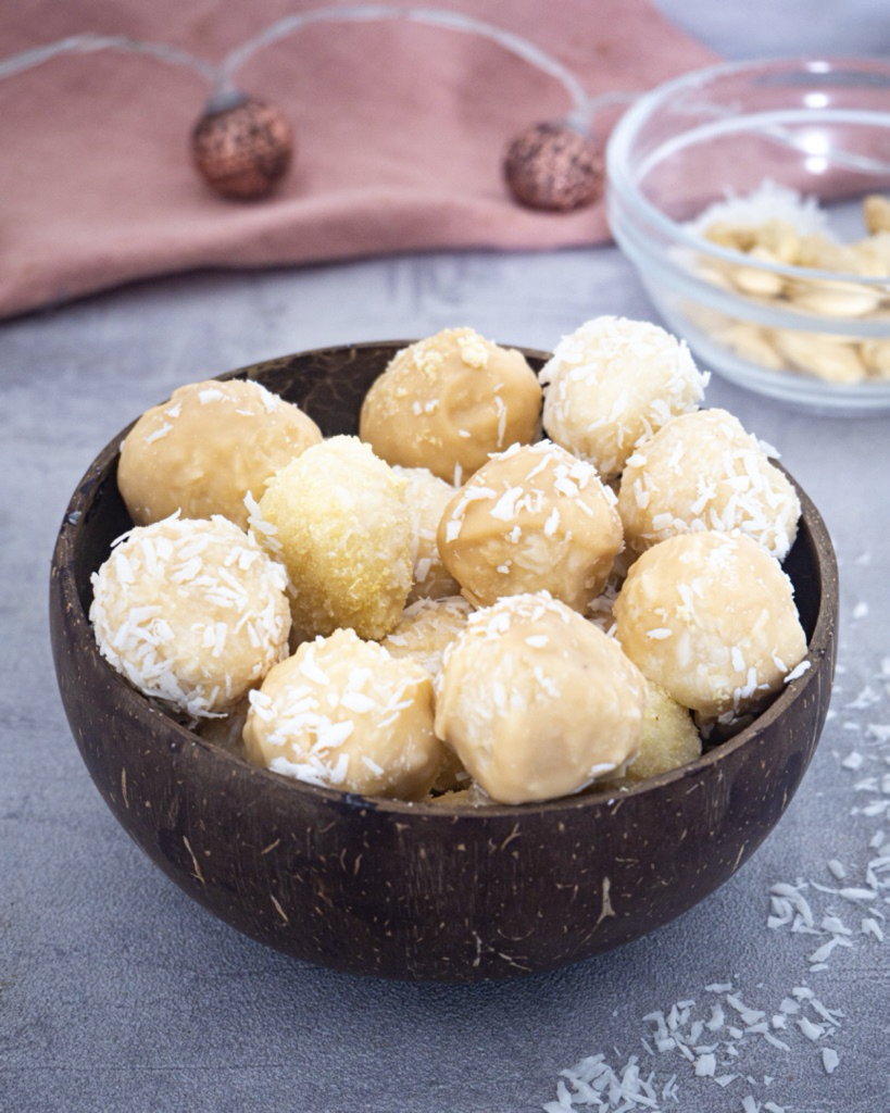 No-Bake Coconut Pralines