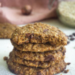 Healthy Peanut Butter Cookies Mini