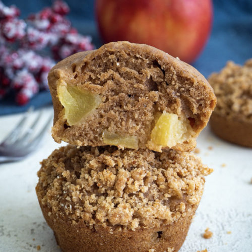 Apfel-Zimt-Muffins Mini