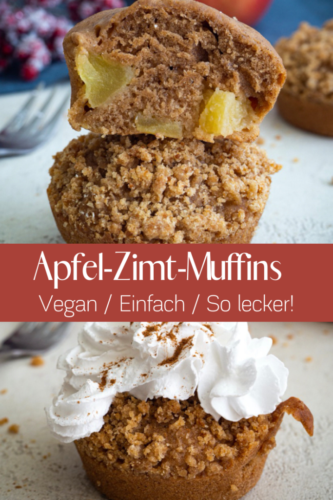 Apfel Zimt Muffins Pint