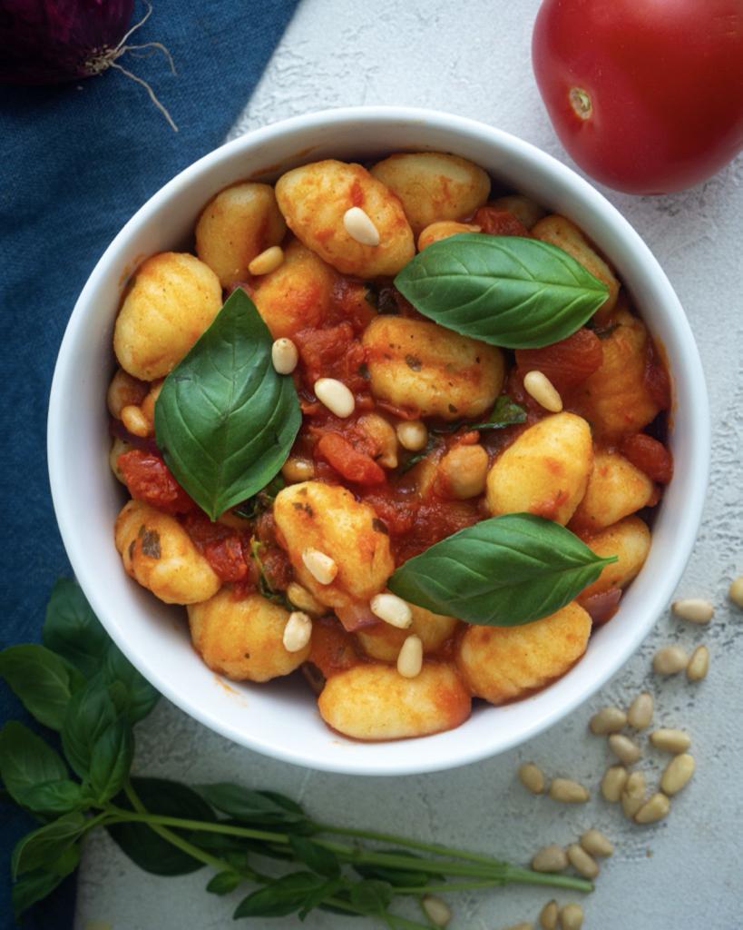 Tomatensauce mit Gnocchi