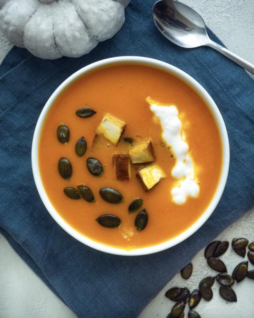 Kürbissuppe mit Kokosmilch Mini