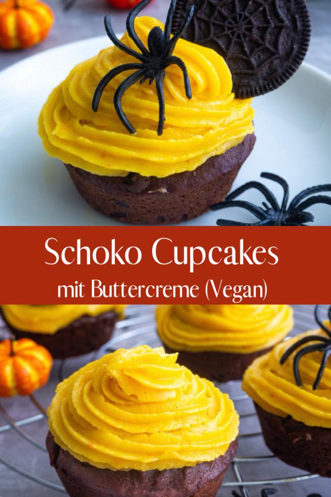 Schoko Cupcakes Pinterest