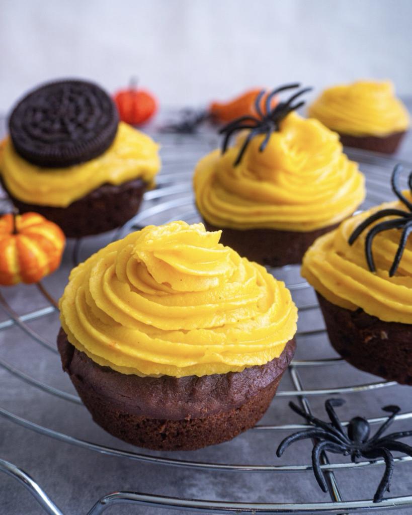 Vegane Schoko Cupcakes
