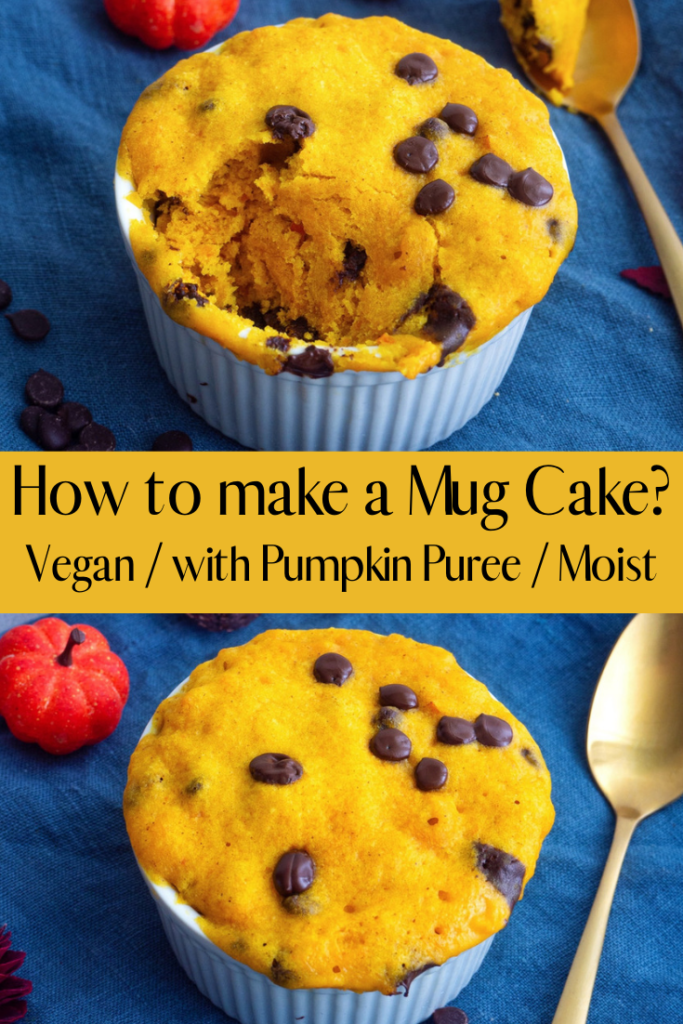 How to make a vegan mug cake?