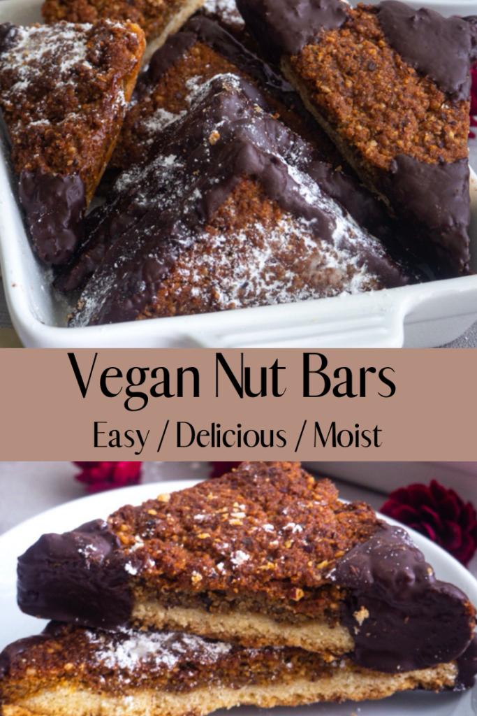 Vegan Nut Bars Pinterest