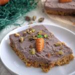 Vegan Carrot Cake Bars Mini