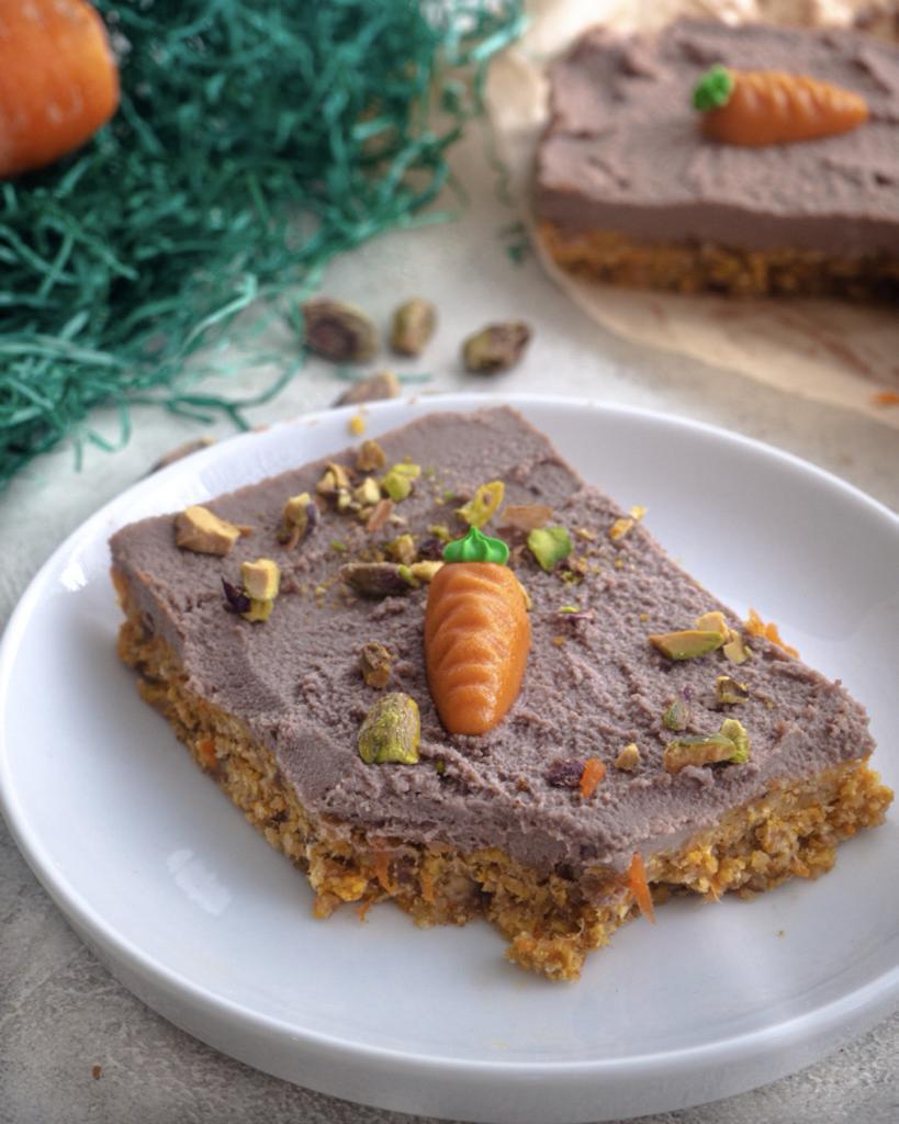Vegan Carrot Cake Bars Recipe