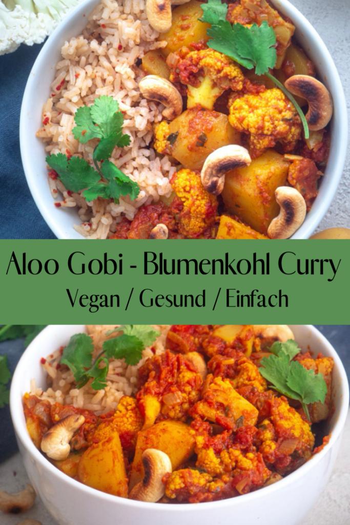Aloo Gobi - Blumenkohl Curry