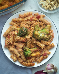 Easy Vegan Pasta Bake Mini