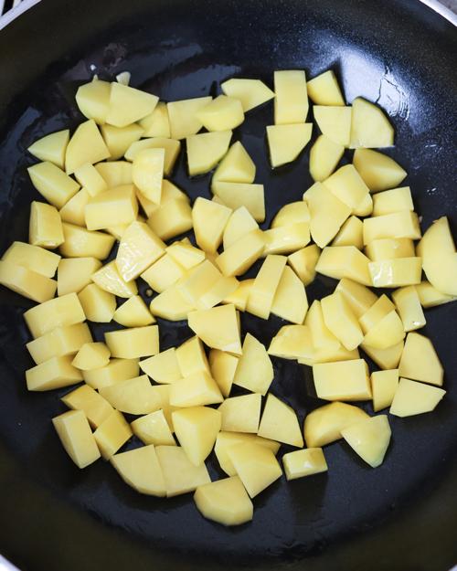 Kartoffel anbraten