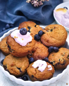Blaubeer Muffins Mini